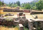 16/18 - Deel van goudsmedenkwartier met vuuraltaar voor Ahuramazda uit 6de eeuw v. Chr., opgravingsterrein van Sardes