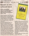 recensie krant 30-07-2009 Haarlems Dagblad